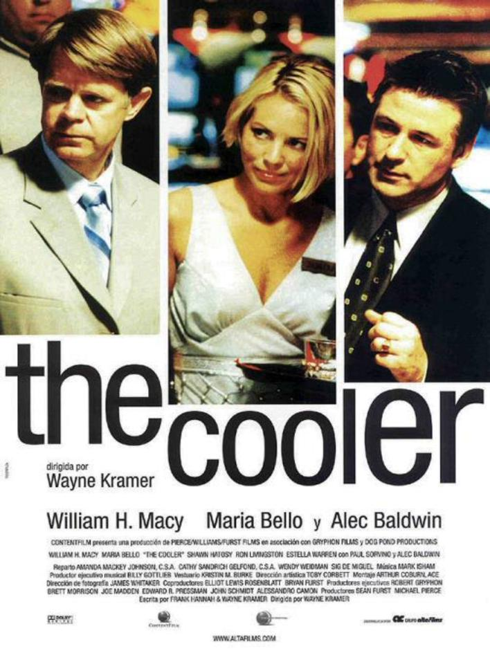 caratula de la película the cooler